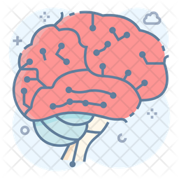 Artificial Brain Icon Of Colored Outline Style Available In Svg Png Eps Ai Icon Fonts