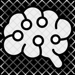 Artificial Brain Icon