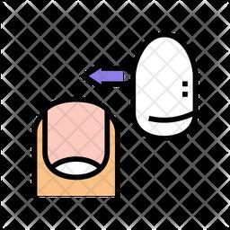 Artificial Nail Icon