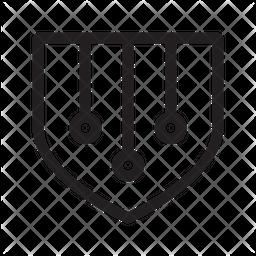 Artificial Security Icon