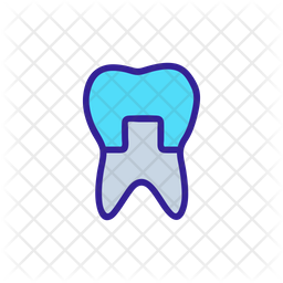 Artificial Tooth Icon