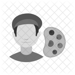 Artist Flat Icon