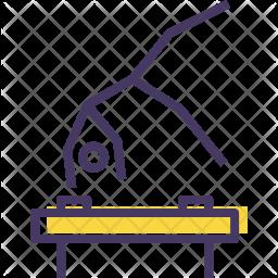 Artistic Colored Outline Icon