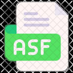 Asf Flat Icon