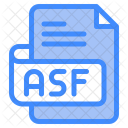 Asf File Dualtone Icon