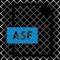 ASF File Sticker Icon