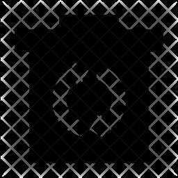 Ashcan Glyph Icon