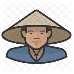 Asian Farmers Icon