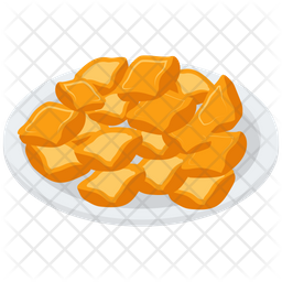 Asian Food Platter Icon