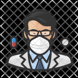 Asian Pharmacist Icon