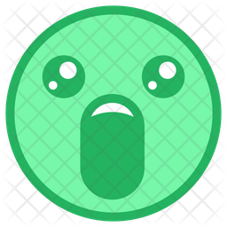 Astonished Face Emoji Icon