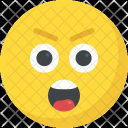Astonished Smiley Icon