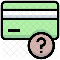 Atm Card Information Colored Outline Icon