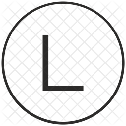 Atm, Ui, Letter, L, Uppercase, Alphabet Icon