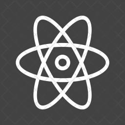 Atom Line Icon