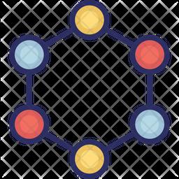 Atom circles Icon