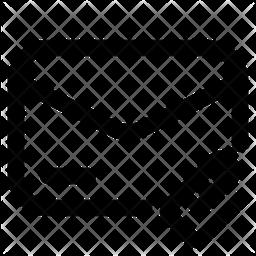 Attach Line Icon