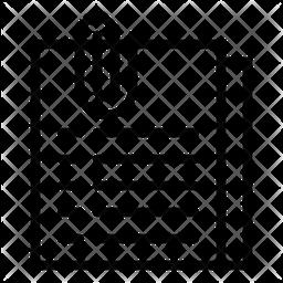 Attachment Line Icon