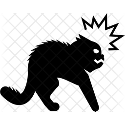 Attack Position Glyph Icon