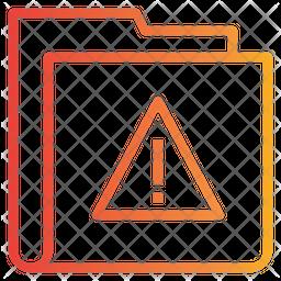 Attention Folder Icon