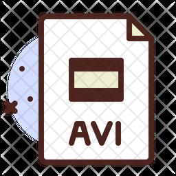 Audio File Colored Outline Icon