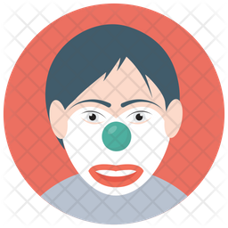Auguste Clown Icon