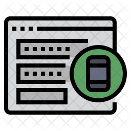 Authentication Colored Outline Icon
