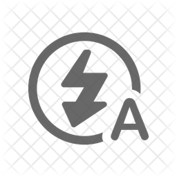 Auto Flash Line Icon