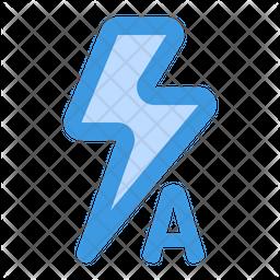 Auto flash Dualtone Icon