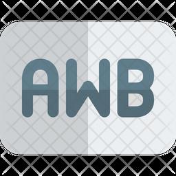 Auto White Balance Gradient Icon