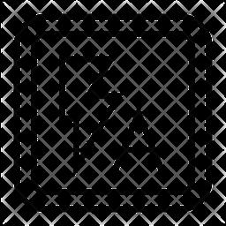 Autoflash Line Icon