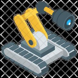Automatic Robot Camera Icon