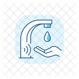 Automatic Water Tap Icon