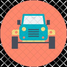 Automobile Flat Icon