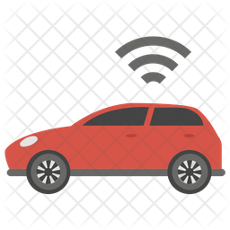Autonomous Car Icon