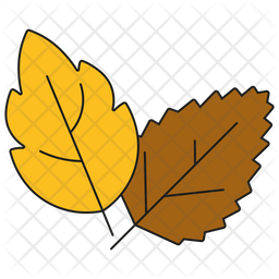 Autumnal Leaves Icon