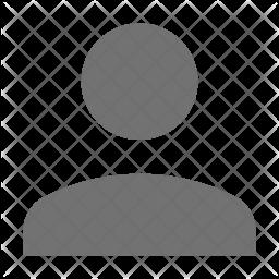 Avatar Glyph Icon
