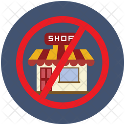 Avoid Crowded Places Icon