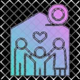 Awareness Foundation Icon