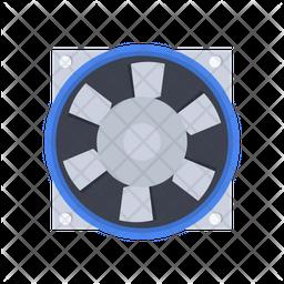 Axial fan Icon