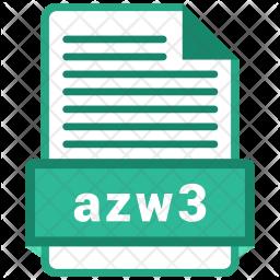 Azw3 file Icon