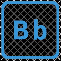 B alphabet Icon