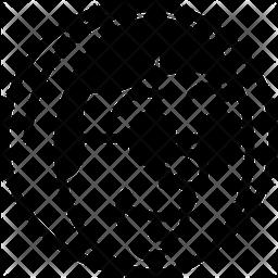 Babushka Glyph Icon