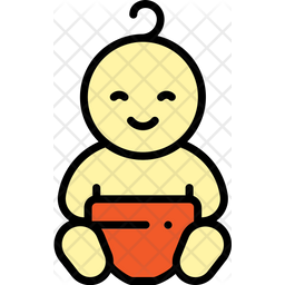 Baby Icon Of Colored Outline Style Available In Svg Png Eps Ai Icon Fonts