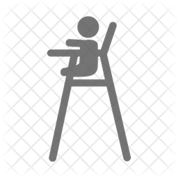 Baby Chair Icon Of Glyph Style Available In Svg Png Eps Ai