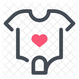 Baby Clothes Icon