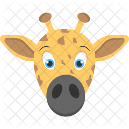 Baby Giraffe Icon