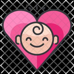 Baby love Icon
