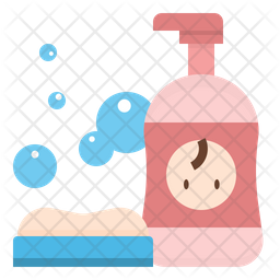 Baby shampoo Icon