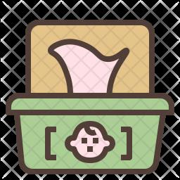 Baby wipe Icon
